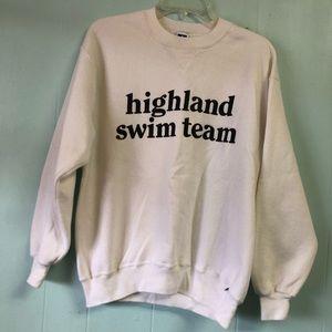 Vintage Russell Athletic Sweatshirt Womens Large